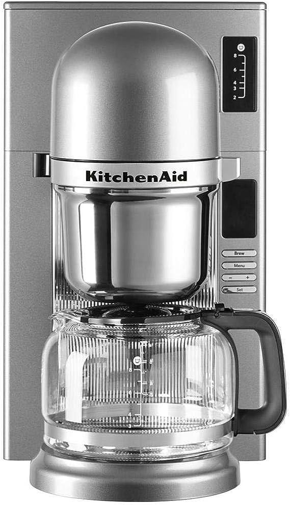 KitchenAid 5KCM0802ECU Independiente - Cafetera (Independiente ...