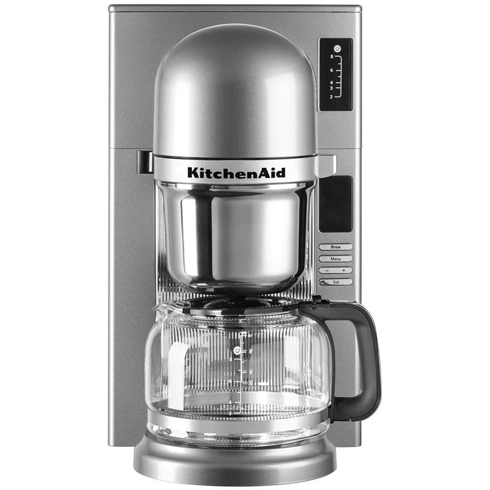 KitchenAid 5KCM0802ECU Independiente - Cafetera (Independiente ...