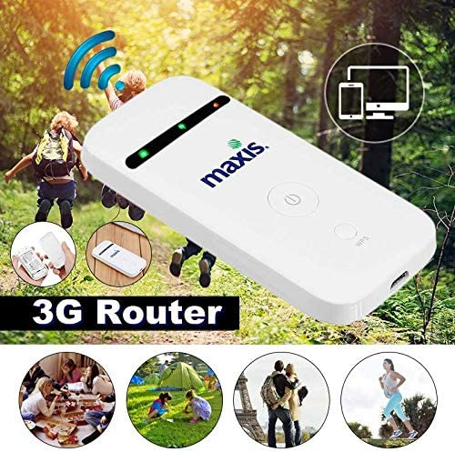 Portable 3G Mobile WiFi MIFI Wireless Pocket spot Router Broadband Unlockeds Sala-Deco