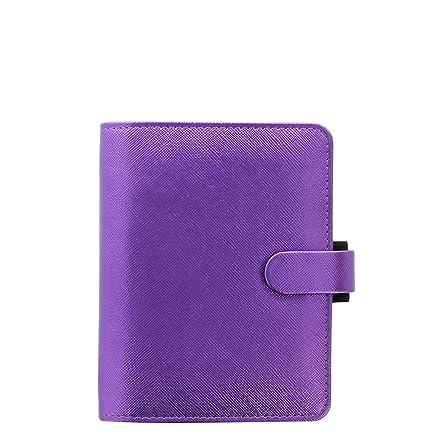 Filofax Saffiano 028770 - Agenda de bolsillo A7 (piel ...
