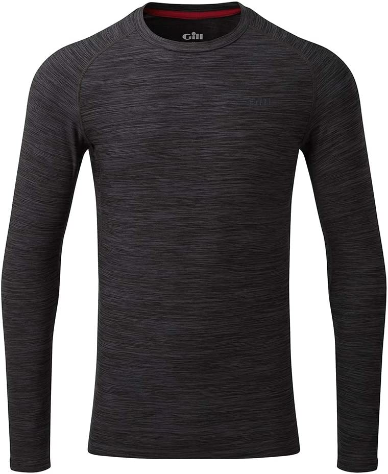 Gill Mens Crew Neck Base Layer Layers for Sailing /& Skiing Ash Lightweight Thermal Materials Easy Stretch