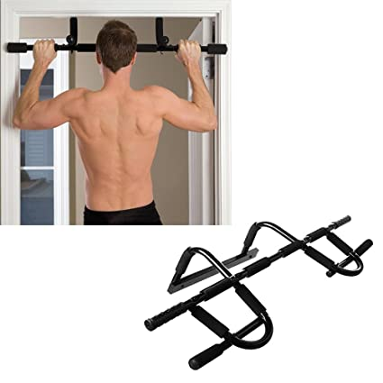 Multi Grip Workout Chin Up/Pull Up Bar, Heavy Duty Doorway