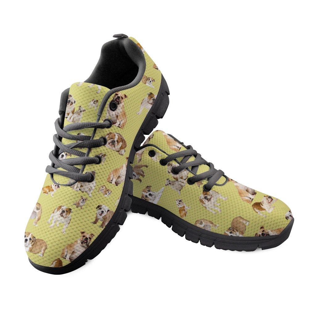 DeePrint Soft Lightweight Women Running Sneakers Colorful Sport Shoes