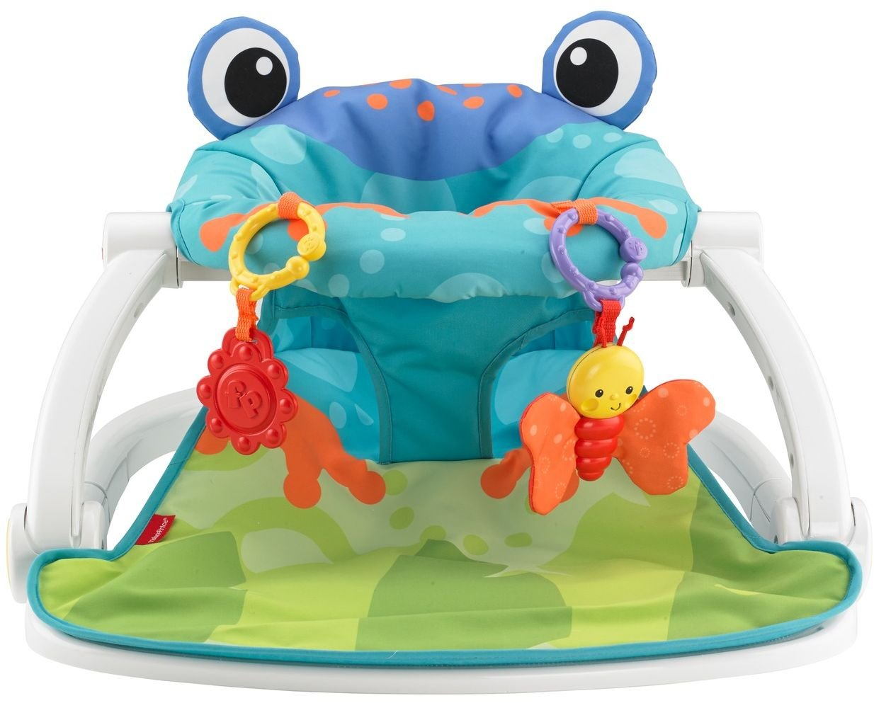 sc 1 st  Amazon UK & Fisher-Price Sit-Me-Up Floor Seat - Frog: Amazon.co.uk: Baby