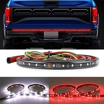 Amazon Com Sizzleauto 60 Led Tailgate Light Bar Truck Tail Light