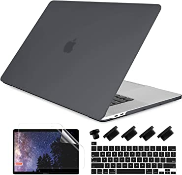 "For New Macbook Pro 13/"" A1706 A1708 Frosted Rubberized Matte Protective Case"