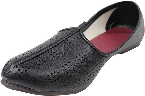 Stop n Style Mojari Shoes Handmade Shoes Punjabi Jutti for Mens Indian Shoes Ethnic shoesBeaded Shoes