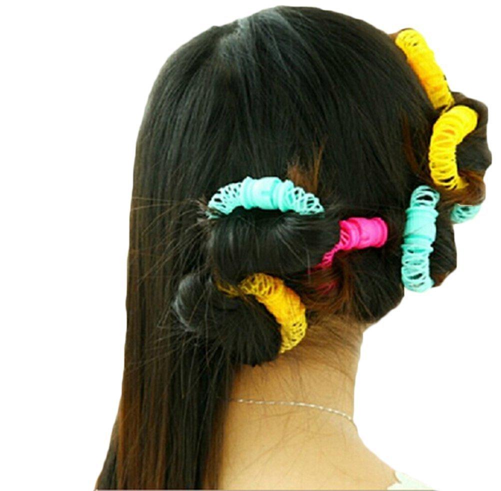 Hilai buytra Hairdresser Magic Bendy Hair styling roller Curler Spiral curls DIY Tool