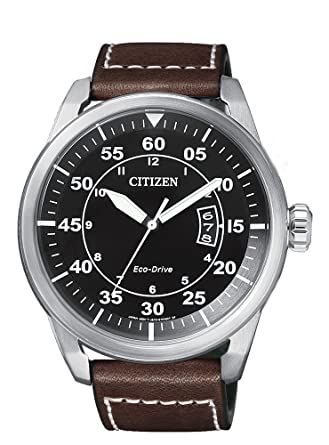 ee4f073009cc2 RELOJ CITIZEN ECO-DRIVE AW1360-55E AVIATOR HOMBRE  Amazon.co.uk  Watches
