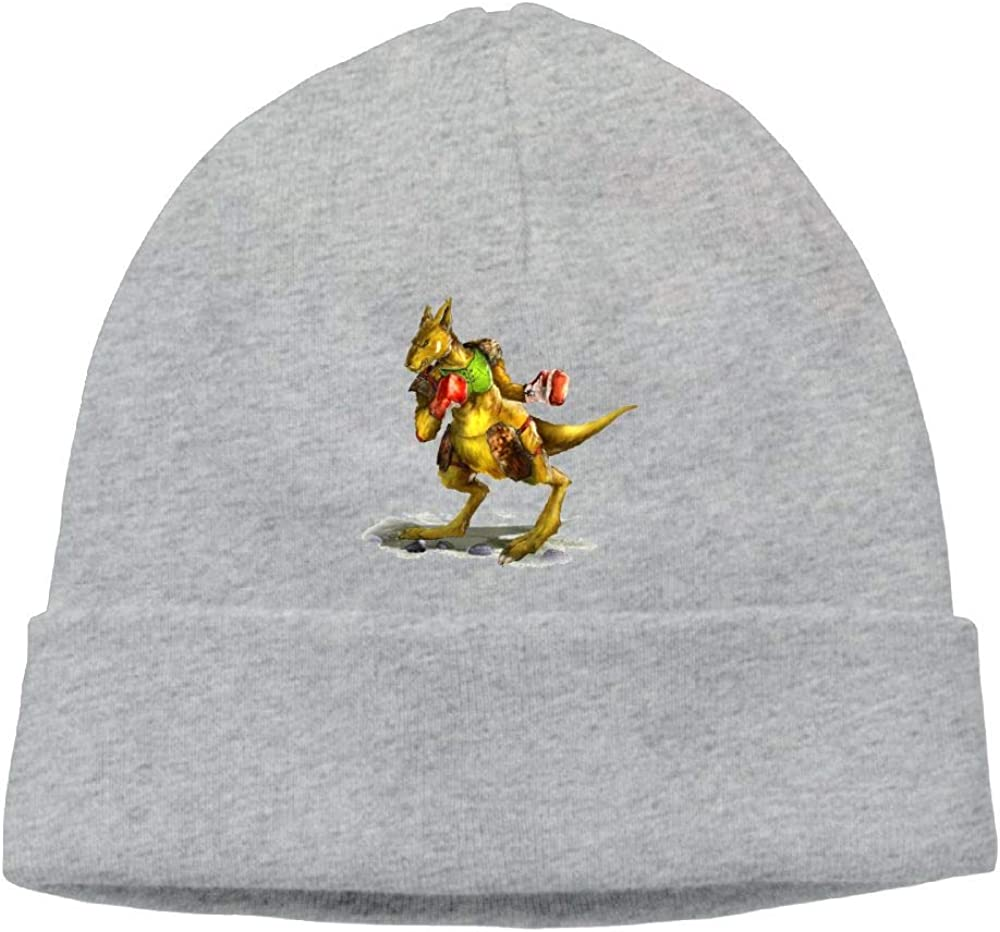 Beanie Knit Hat Skull Cap Cute Kangaroo Boxer Mens