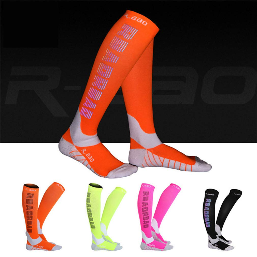 Amazon.com : En-teiping Running Cycling Socks Men Summer Marathon Sports Night Reflective Long Compression Sneakers Sock : Sports & Outdoors
