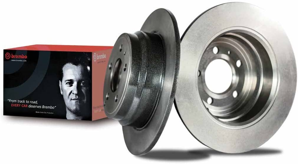 Disque de Frein Arri/ère avec rev/êtement anti-corrosion UV Brembo 09.9925.11 Jeu de 2 disques