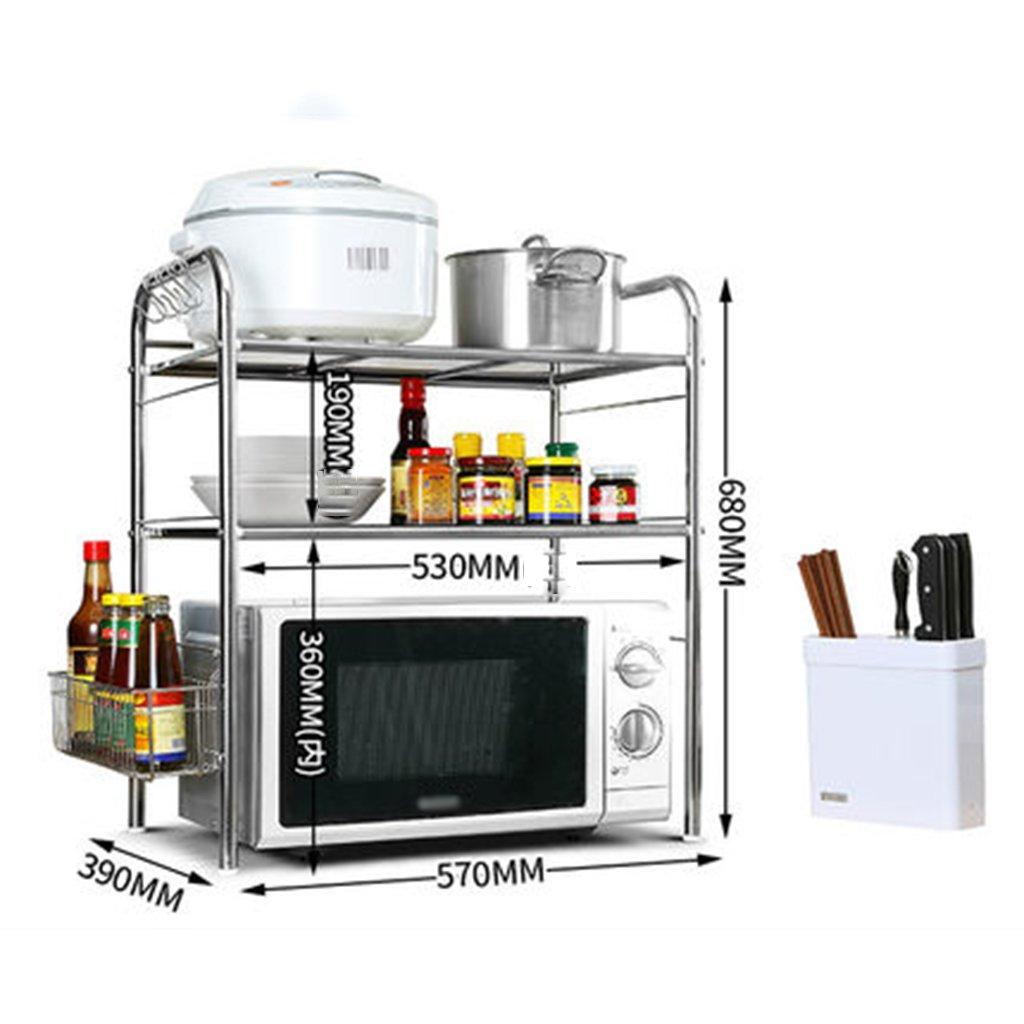 Dongyd - Estante para hornos de microondas, cocina y microondas ...