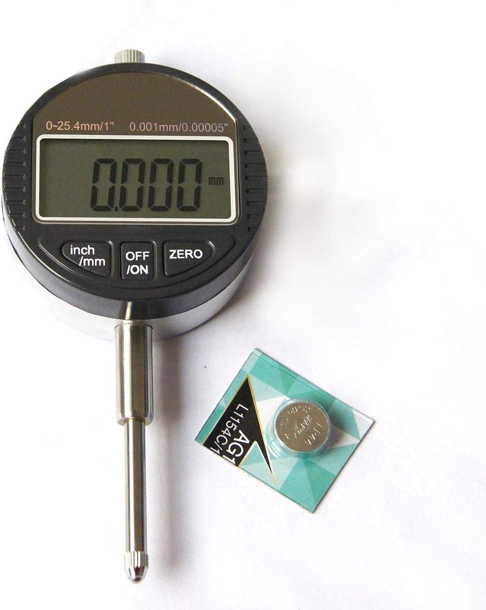 Indicador de l/ínea digital KATSU DTI 0-25.4mm 0.001MM