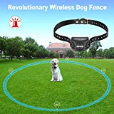 COVONO Wireless Dog Fence with GPS,Invisible Fence for 15lbs-120lbs Dogs