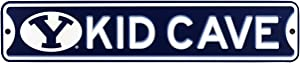 Authentic Street Signs NCAA College Officially Licensed Steel Kid Cave Sign-Decor for Sports Fan Bed Room! … (BYU Cougars)