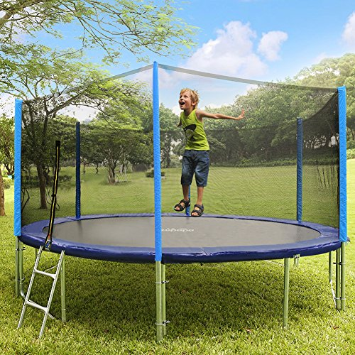 Zupapa Jumping Mat Replacement For 15 Ft Round Trampoline: 3rd Anniversary Sale! Zupapa TUV Approved 15 FT Round