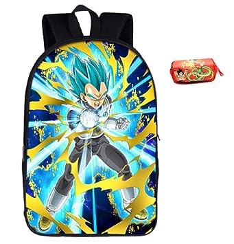 Amazon Com Jarilnmo Dbz Bookbag Dragon Ball Z Kids Super Saiyan