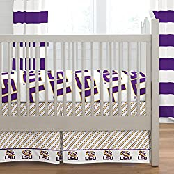 Carousel Designs Louisiana State University 2-Piece Crib Bedding Set