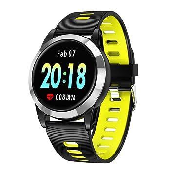 ZLOPV Reloj Inteligente para Hombres Monitor de Ritmo ...