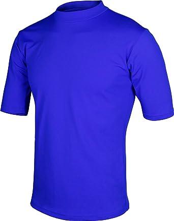 3asyGlide Rash Guard - Camisas de natación para hombre y mujer - Azul - X-Large: Amazon.es: Ropa y accesorios