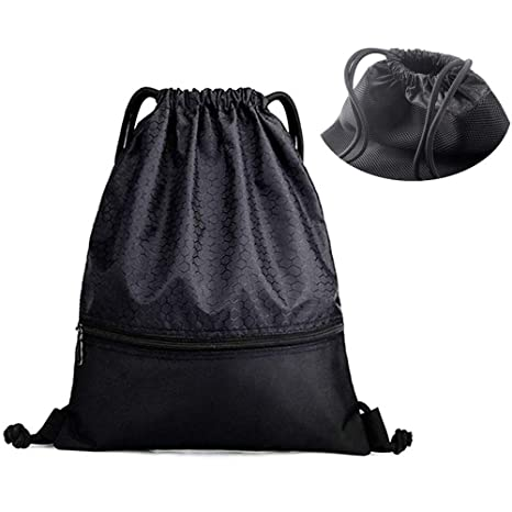 Unisex Drawstring Sports Backpack LUXJA Drawstring Backpack Accessories