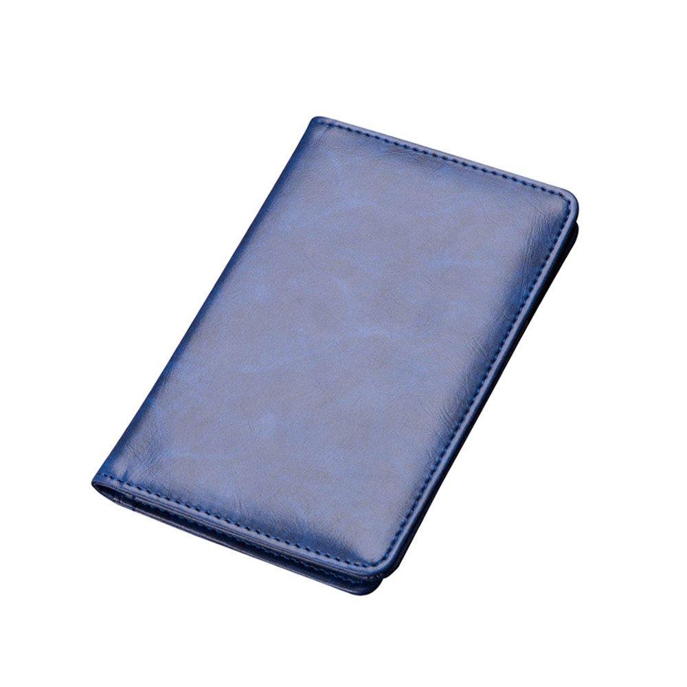 ALIKEEY Los Hombres De Cuero Sintetico Vintage Tarjeta De Crédito Cartera Bifold Monedero Bolsa De Embrague: Amazon.es: Equipaje