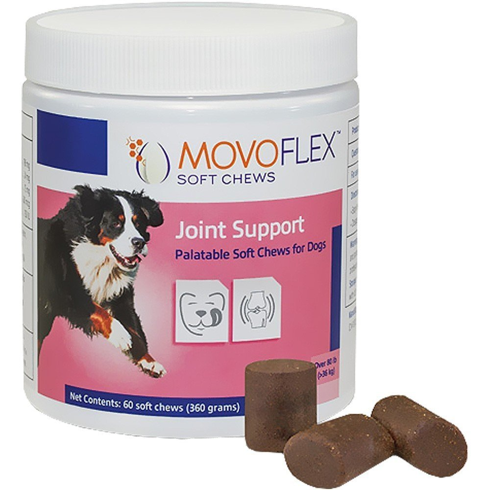 MoVo Flex Joint Support for Dogs Large-60 Soft Chews