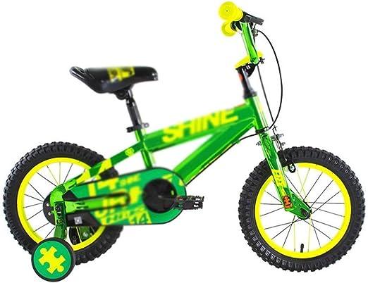 SGMYMX Bicicleta para niños Bicicleta Infantil, Bicicleta Infantil, Cochecito y estabilizador de 12/14/16 Pulgadas. Bicicleta de los niños (Size : C): Amazon.es: Hogar
