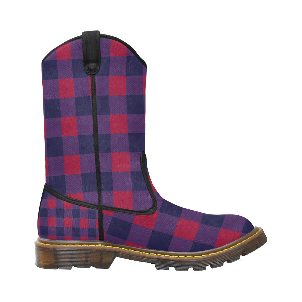 Lumber Western Boots Canvas Combat for Men Boy