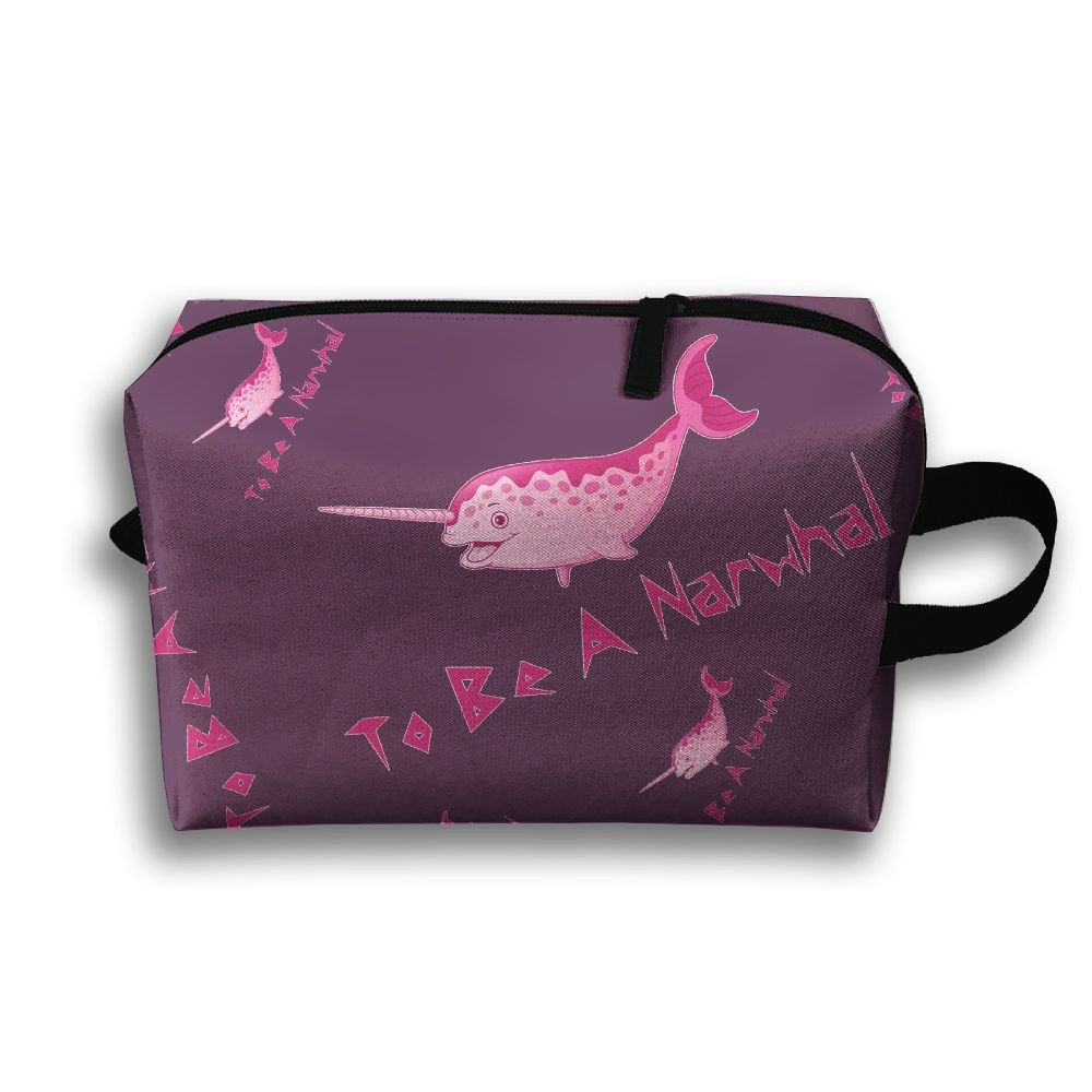aa35dd162ffa To Be A Kawaii Narwhal Travel Toiletry Bags Shaving Kit 85%OFF ...