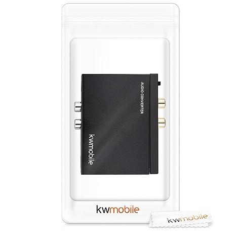 kwmobile Conversor DAC de Audio Digital a analógico: Amazon.es ...