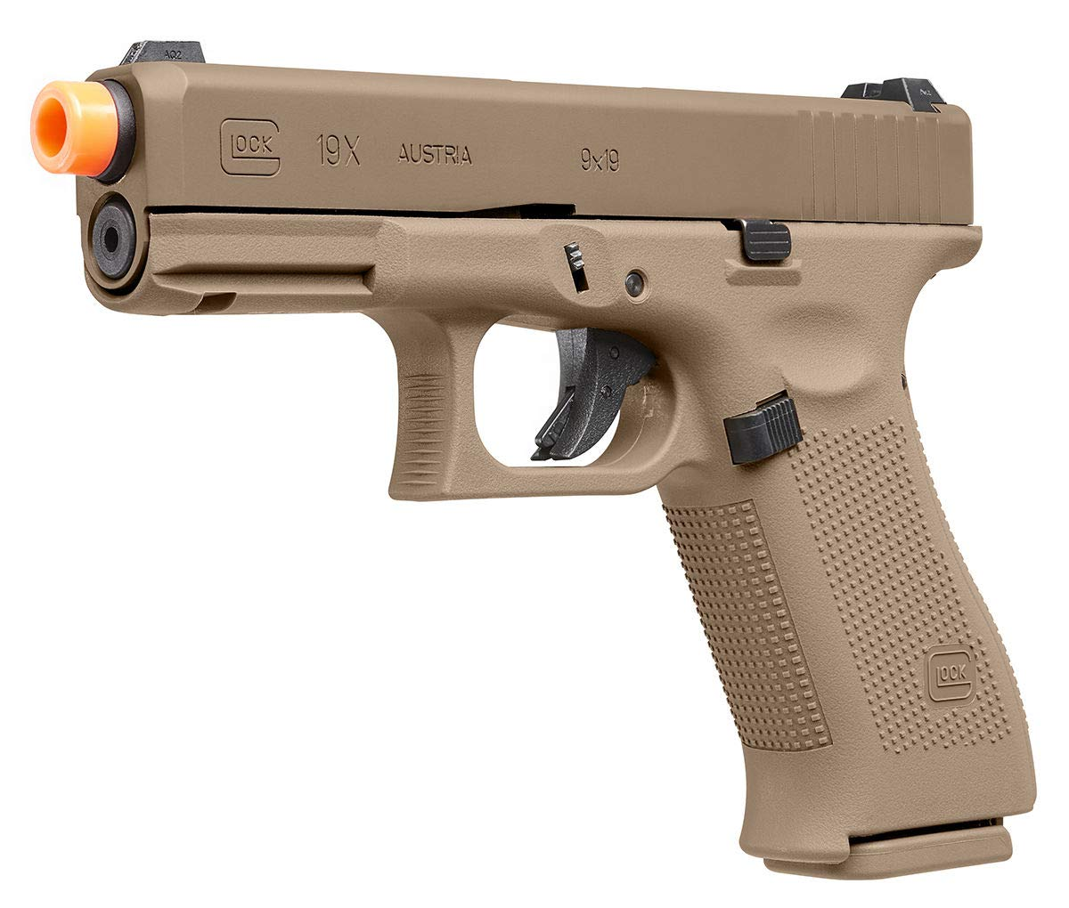Umarex Glock 19X GBB Blowback 6mm BB Pistol Airsoft Gun, Glock 19X Airsoft Gun by Umarex