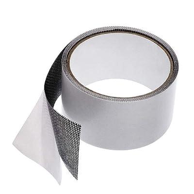 Repair Tape IKevan Fly Screen Door Insect Repellent Repair Tape Waterproof Mosquito Screens Cover (Black): Toys & Games