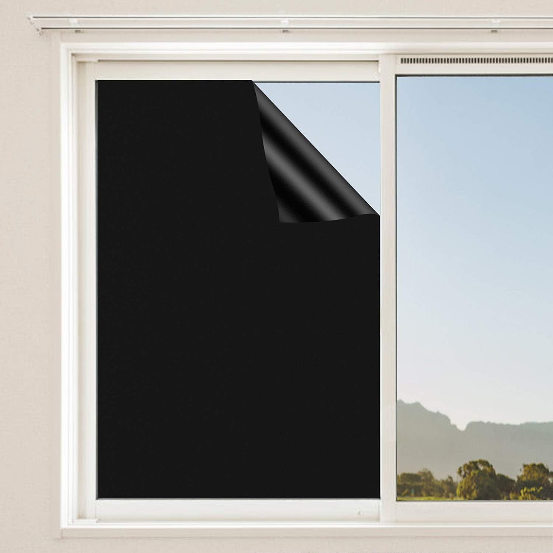 FORMIZON Película de Ventana, Película de Espejo para Ventanas, para Ventana Autoadhesivo Anti UV la Película de la Ventana de Control de Calor, para Casa y Oficina Windows - 40 x 200cm