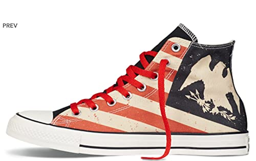 converse vintage american flag