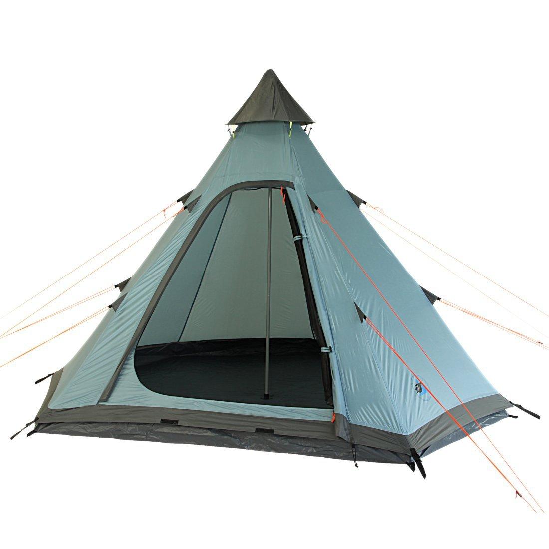 10T /équipement dext/érieur /étanche Midura Unisexe ext/érieur Teepee Tente Disponible en Bleu/ /3/Personnes