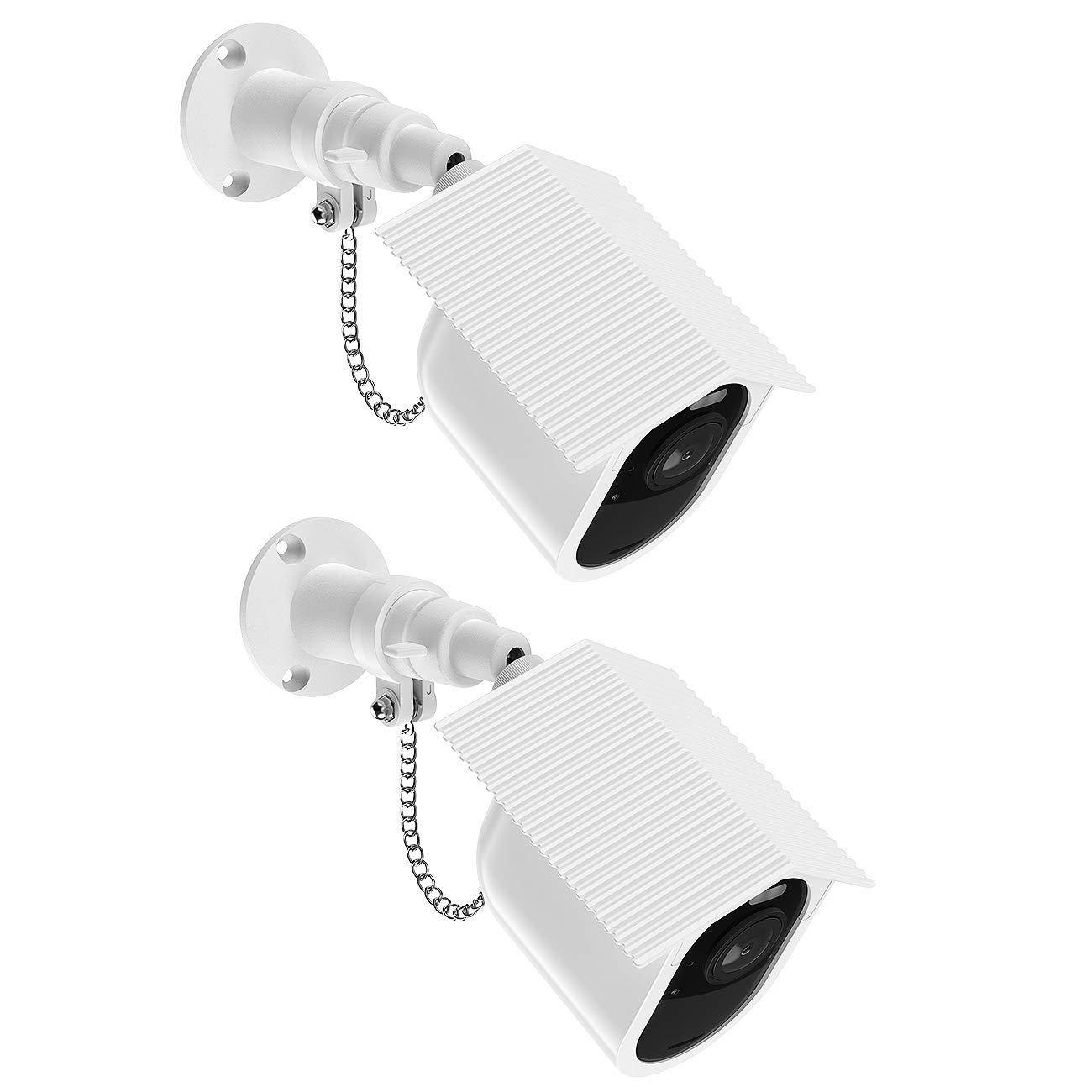 Schutz-Halterung Wandhalterung f/ür ARLO Ultra Home Security Camera System wetterfest LUXACURY ARLO Ultra Kamerahalterung mit Outdoor Schutztasche Anti-Diebstahl