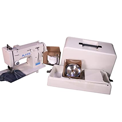 Amazon Portable Upholstery Sewing Machine Zig Zag Straight Simple Handheld Sewing Machine For Canvas