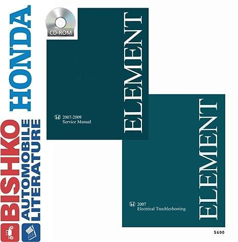 amazon com bishko automotive literature 2007 2008 2009 honda rh amazon com 2007 honda element owners manual pdf 2007 honda element owners manual