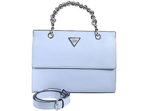Guess Bags Hobo, Bolsos bandolera Mujer, Azul (Sky), 11x21