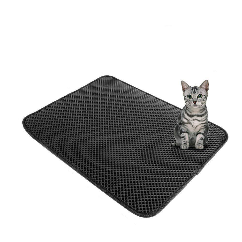 M Foldable Pet Pad Summer Mat, Double Layer Cat Litter Sleeping Mattress Nest, Dog Summer Cat with Mat Ice Pad,Cushion for Pet Small Large Dog,M