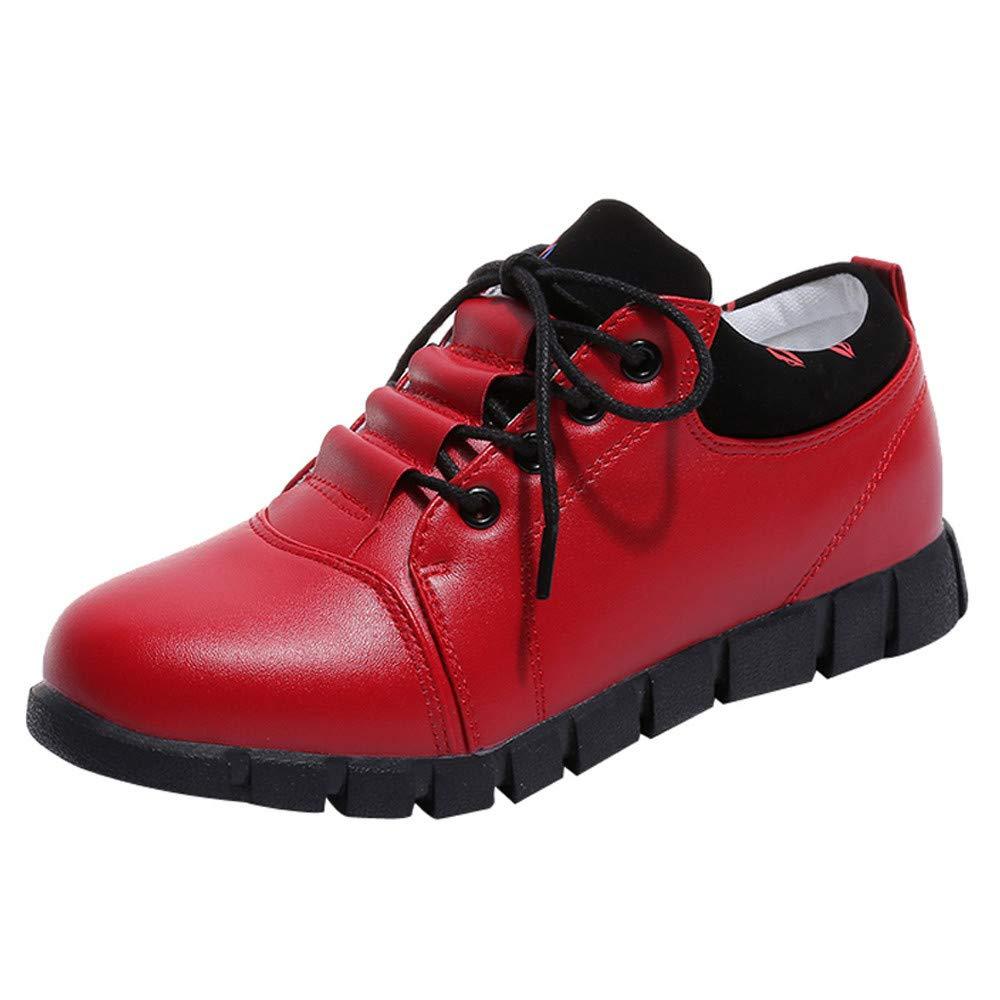 Dtuta Chaussures de Course Pour Femme, Chaussures De Sport En Plein Air Pour Femmes, Chaussures De Sport à Lacets Chaussures De Sport à Lacets