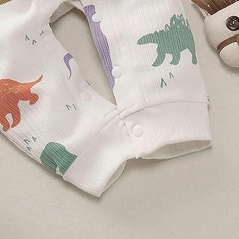 AmaSells - Mono de Dinosaurio para bebé recién Nacido, Manga Larga ...