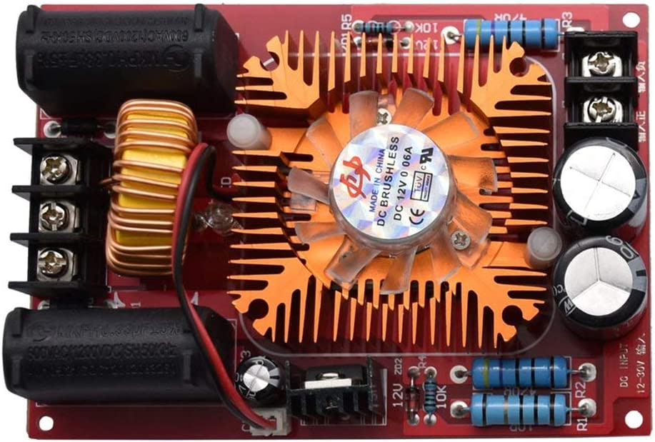 Formulaioue ZVS Tesla Coil Flyback Driver SGTC Marx Generador Jacob Trapezoid 12-30V DC ED-Multi-Color