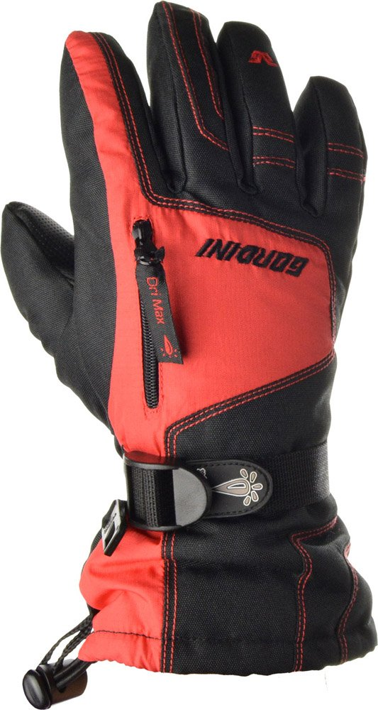 Gordini 2G3033 Girls Ultra Drimax Ga Gloves, Black Red-S