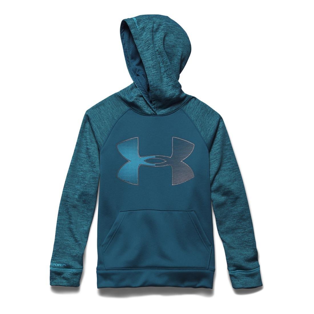 Under Armour Boys UA Storm Armour Fleece Jumbo Logo Hoodie