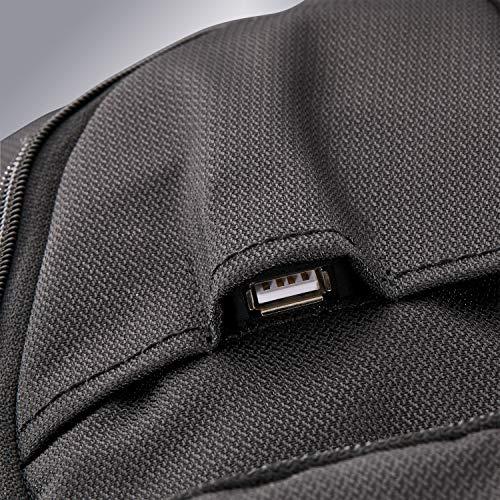 6105sRMSmmL - Samsonite Tectonic Lifestyle Sweetwater Business Backpack, Black, One Size