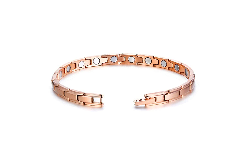 Aooaz Stainless Steel Bangle Bracelets Magnet Shaped Bracelets for Men