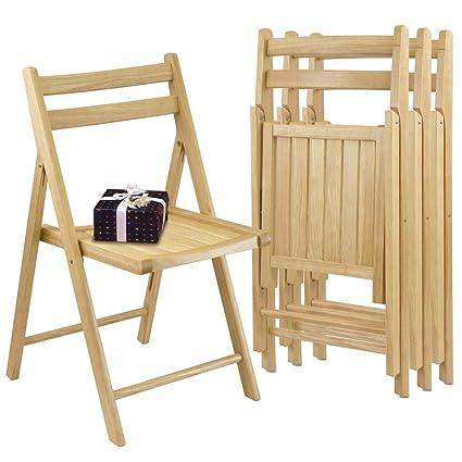 Winsome Robin 4-PC Folding Chair Set - Parent